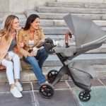 Stokke® Xplory® X Modern Grey Stroller In Setting