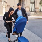 Stokke® Xplory® X Royal Blue Stroller In Setting