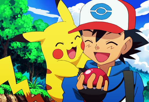 Ash is terrible at raising pokemon.