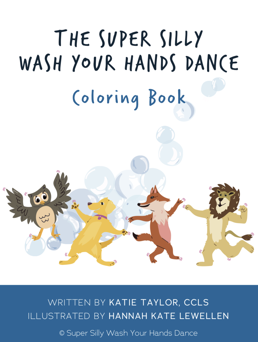 Download Super Silly Wash Your Hands Dance Coloring