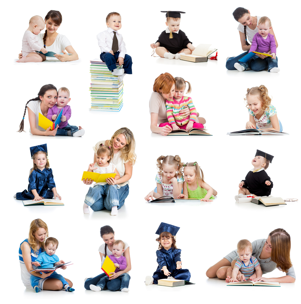 Toddlers Reading