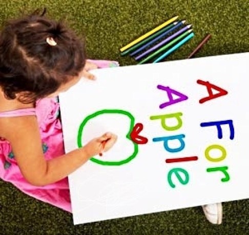 Alphabet and Letter Sounds, children learning reading