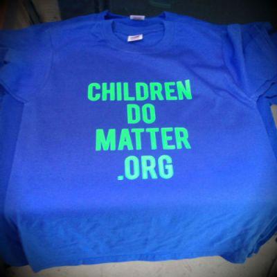 t-shirt - children do matter