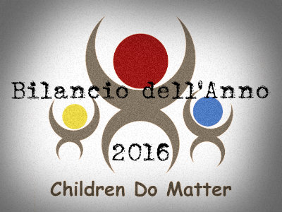 bilancio dell'anno 2016 - children do matter