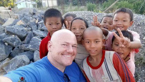 chris at sasana orphanage - children do matter