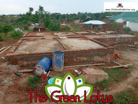 costruzione dell'orfanotrofio casa di accoglienza the green lotus a blantyre malawi - children do matter - 9