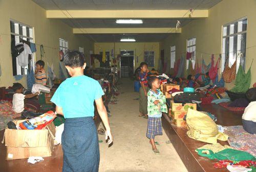 dormitorio orfanotrofio sasana yaung chi-nyaung shwe lago inle birmania - children do matter