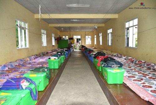 dormitory 1 with mattresses sasana orphanage myanmar - children do matter