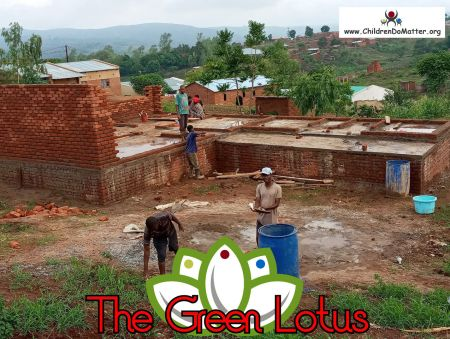 the making of the green lotus orphanage in blantyre malawi - children do matter - 11
