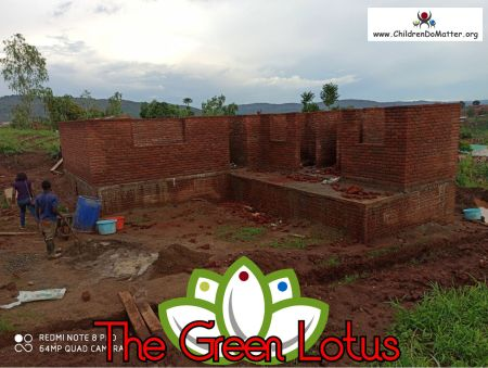 the making of the green lotus orphanage in blantyre malawi - children do matter - 13