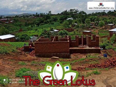 the making of the green lotus orphanage in blantyre malawi - children do matter - 15