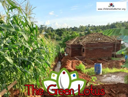 the making of the green lotus orphanage in blantyre malawi - children do matter - 19