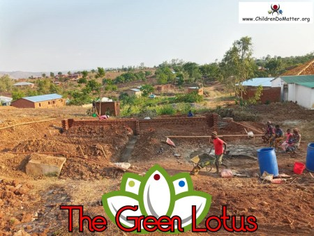 the making of the green lotus orphanage in blantyre malawi - children do matter - 2