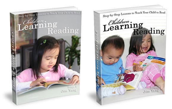 Children Learning Reading Stage 1