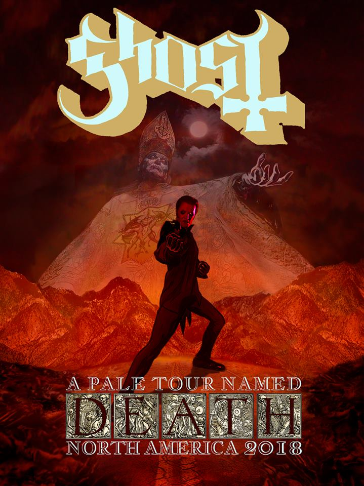 Ghost Announces New Tour A Pale Tour Named Death VIP Info Children Of Ghost
