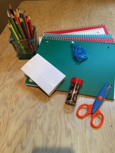Supplies are just the beginning of a creative year! Photo: CCC