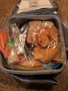 Back to School. Lunch.packed lunch