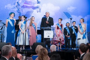 Jay Leno and Type 1 Children at Carousel of Hope