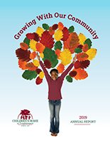 photo of cover of 2020 annual report