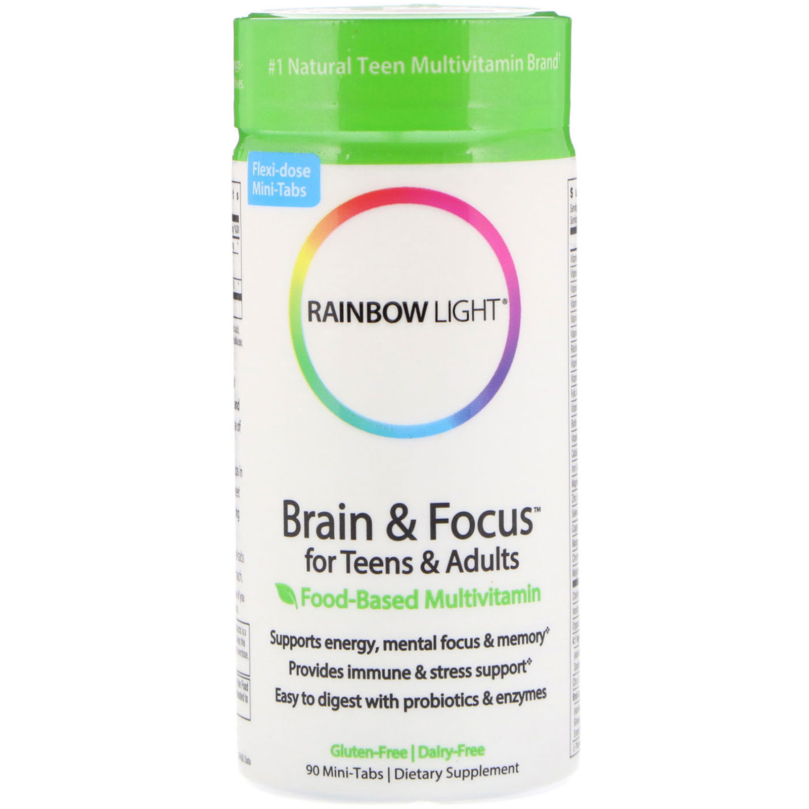 Brain & Focus Multivitamin for Teens & Adults – 90 tablets