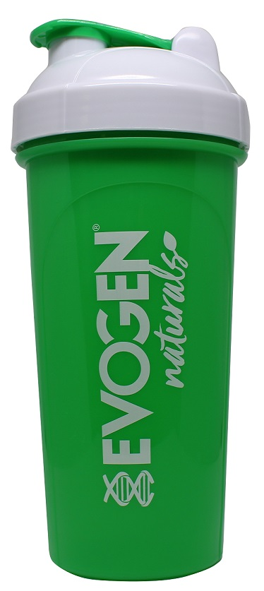 Shaker, Green with White Lid – 700 ml.