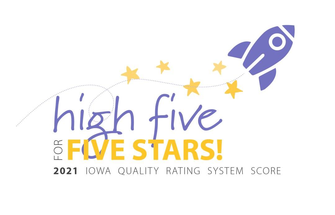 2015 Five Star Iowa Quality Rating System Score