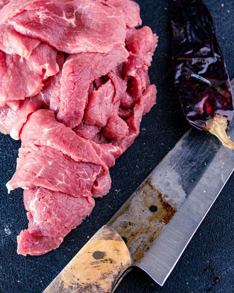 carne seca prep