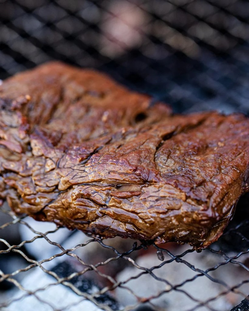 triple seared steak