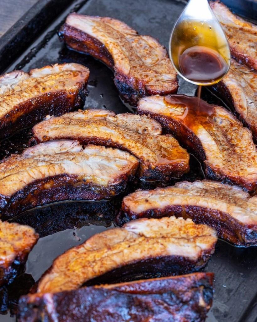 miso teriyaki pork ribs