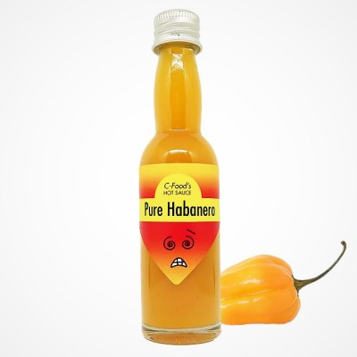 Pure Jolokia Chili Hot Sauce   C-Food - The Chemistry Of Chili Peppers