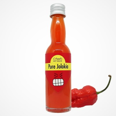 Pure Jolokia Chili Hot Sauce | C-Food - The Chemistry Of Chili Peppers