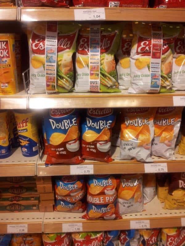 Potato Chips in Latvia, 2012