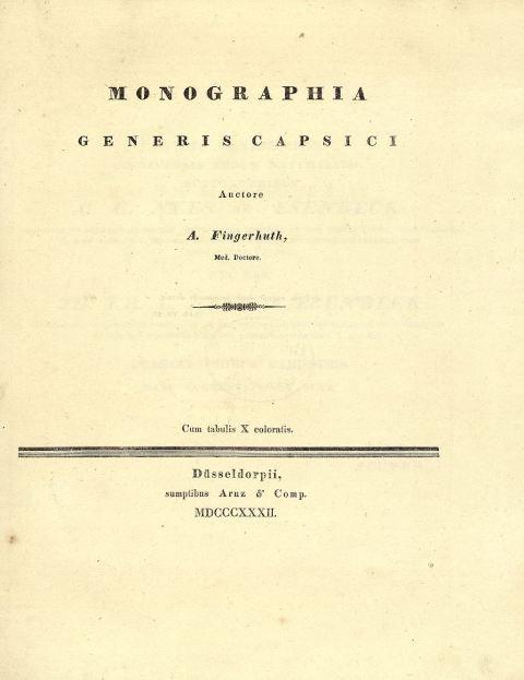 herbarium titelblatt