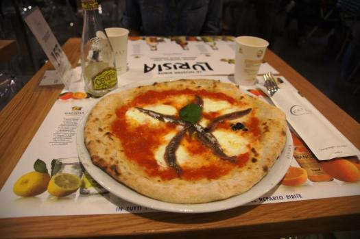 Pizza, Eataly, Rome