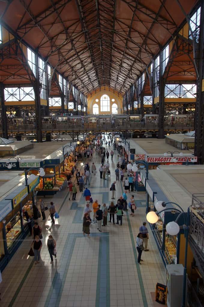 Marktmontag: Budapest, Nagycsarnok