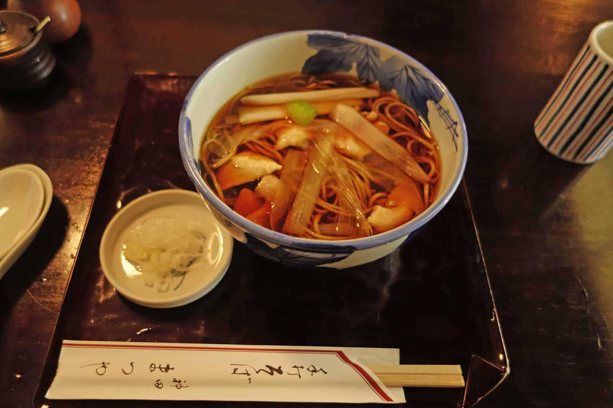 Auf der Spur von Würze in Japan 1: Kanda Matsuya Soba, Tokyo