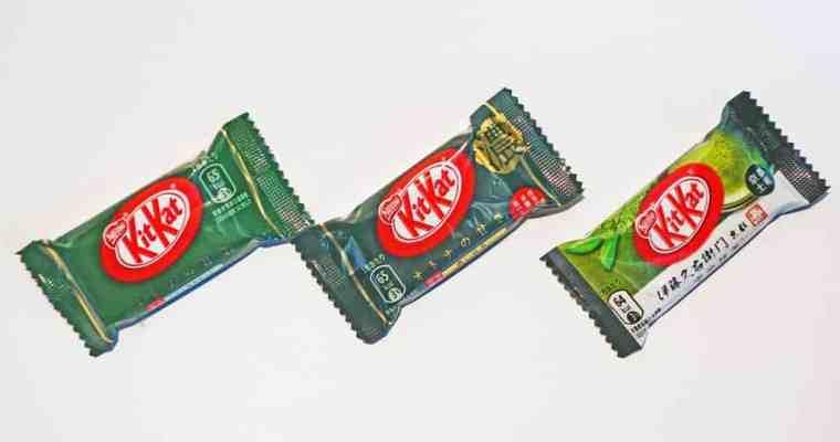Lektionen in Matcha 1: Aromen-Lektionen von KitKat in Japan