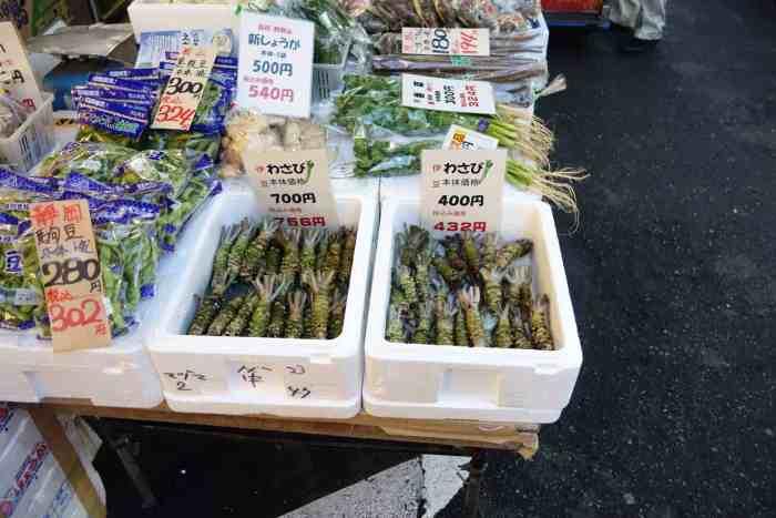 Tsukiji Market Wasabi