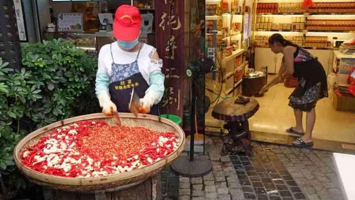 Longji-Reisterrassen-Chilli... in einem Geschäft in Guilin
