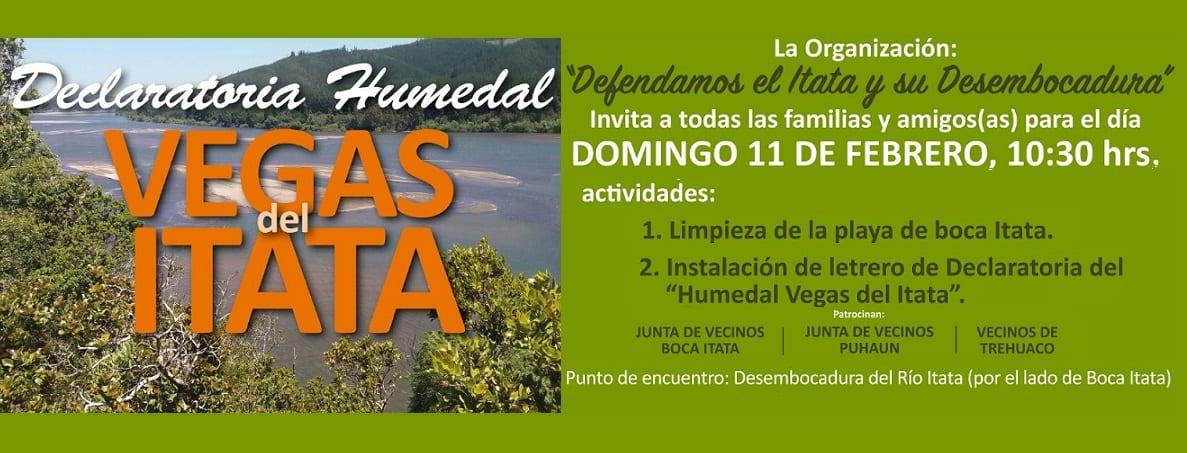 Campaña Humedal Vegas del Itata