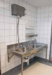 Combination Bedpan and WashUp Sluice Sink   South Africa
