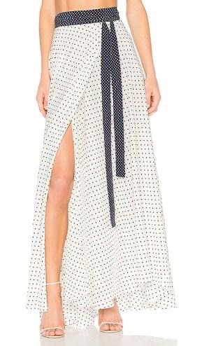 Revolve Maxi Wrap Skirt £135.72