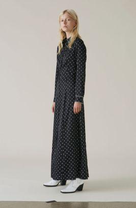 Ganni Silk Maxi £440.00