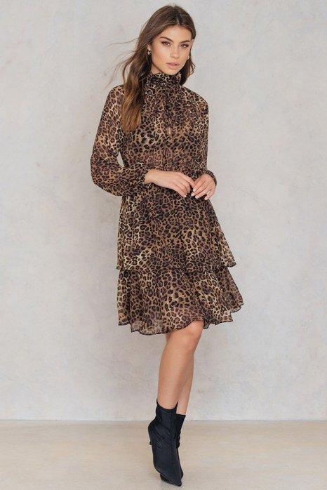 NA-KD high frill dress £22.48