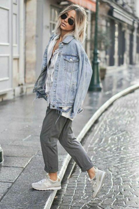 Oversized Denim Jacket Pinterest Inspo