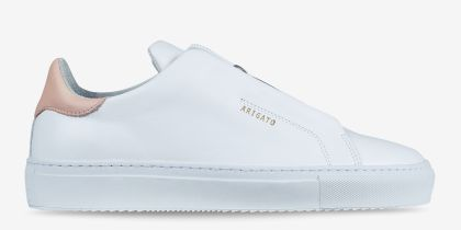 AXEL ARIGATO CLEAN 360 LACELESS WHITE LEATHER £180