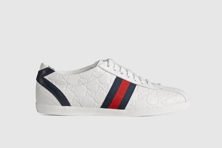 Guccissima leather lace-up £360