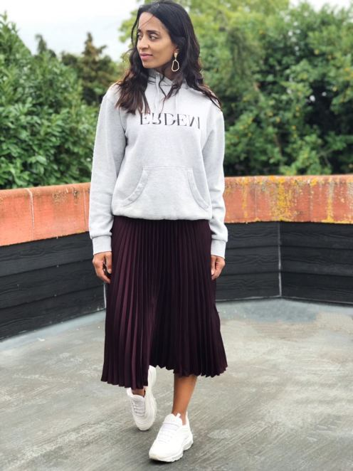 HM Pleated Skirt £29.99