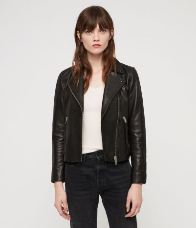 All Saints Leather Jacket £298