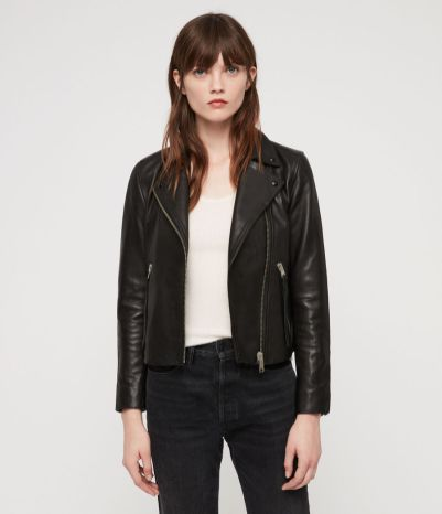 All Saints Leather Jacket £298
